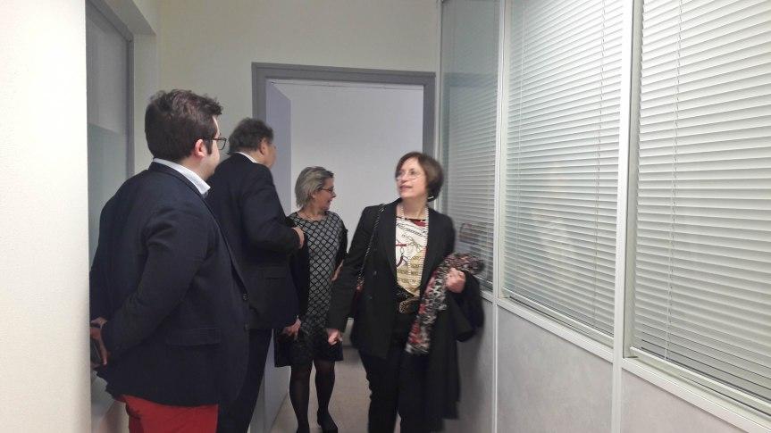 Dominique Vérien, sénatrice de l'Yonne, était en visite au centre CTLM jeudidernier