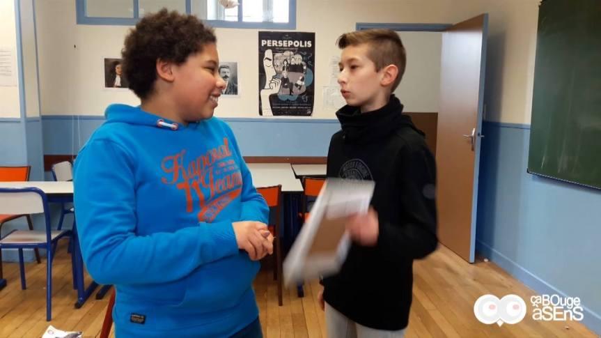 Semaine de l'illettrisme au collègeSaint-Etienne