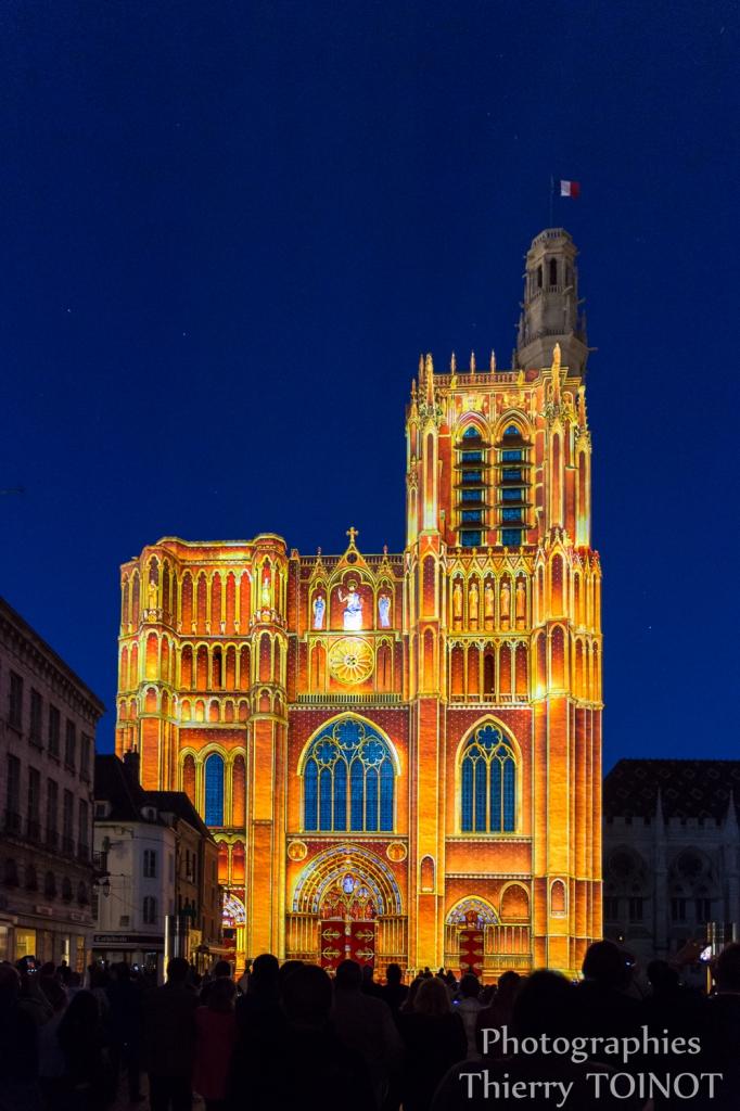 Les lumières de la Cathédrale de Sens, édition2015